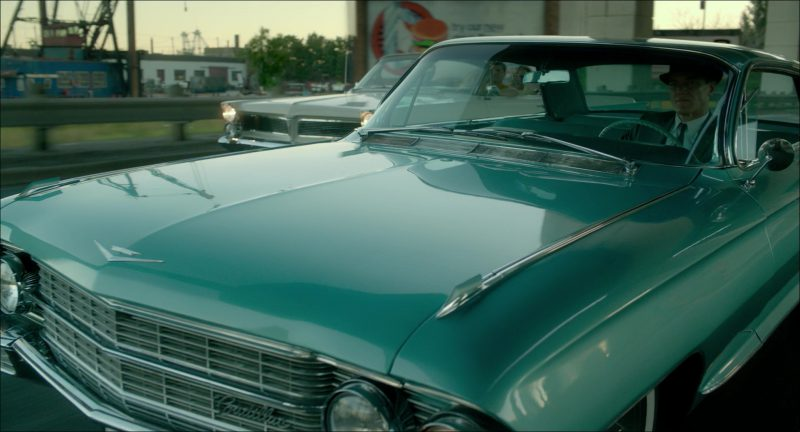 Cadillac Car Driven by Michael Shannon in The Shape of Water (2017) Movie Product Placement