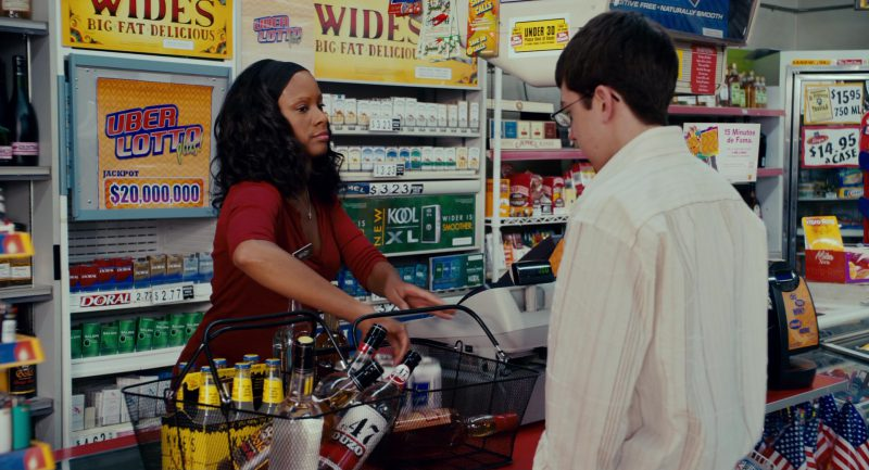 Camel and Kool Cigarettes (Erica Vittina Phillips) in Superbad (2007) Movie Product Placement