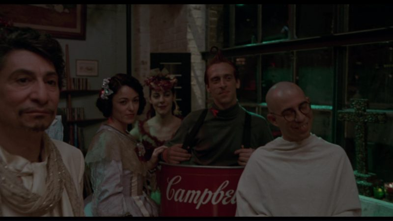Campbell's Condensed Tomato Soup Costume in Philadelphia (1993) - Movie Product Placement