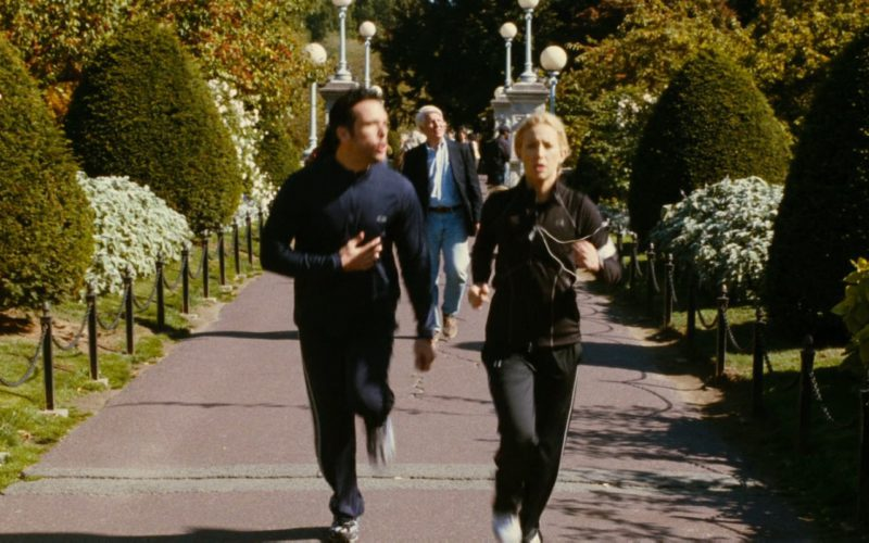 Champion Jacket Worn by Dane Cook and Under Armour Tracksuit Worn by Kate Hudson in My Best Friend's Girl (2008) Movie Product Placement