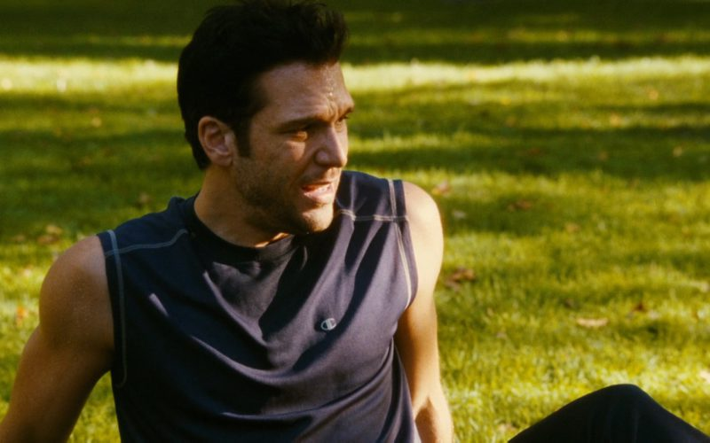 Champion T-Shirt Worn by Dane Cook in My Best Friend's Girl (2008) Movie Product Placement