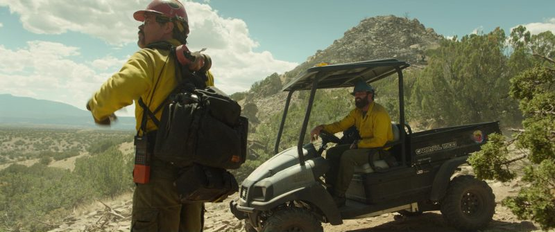 "Club Car ""Carryall 500"" in Only the Brave (2017) Movie Product Placement"