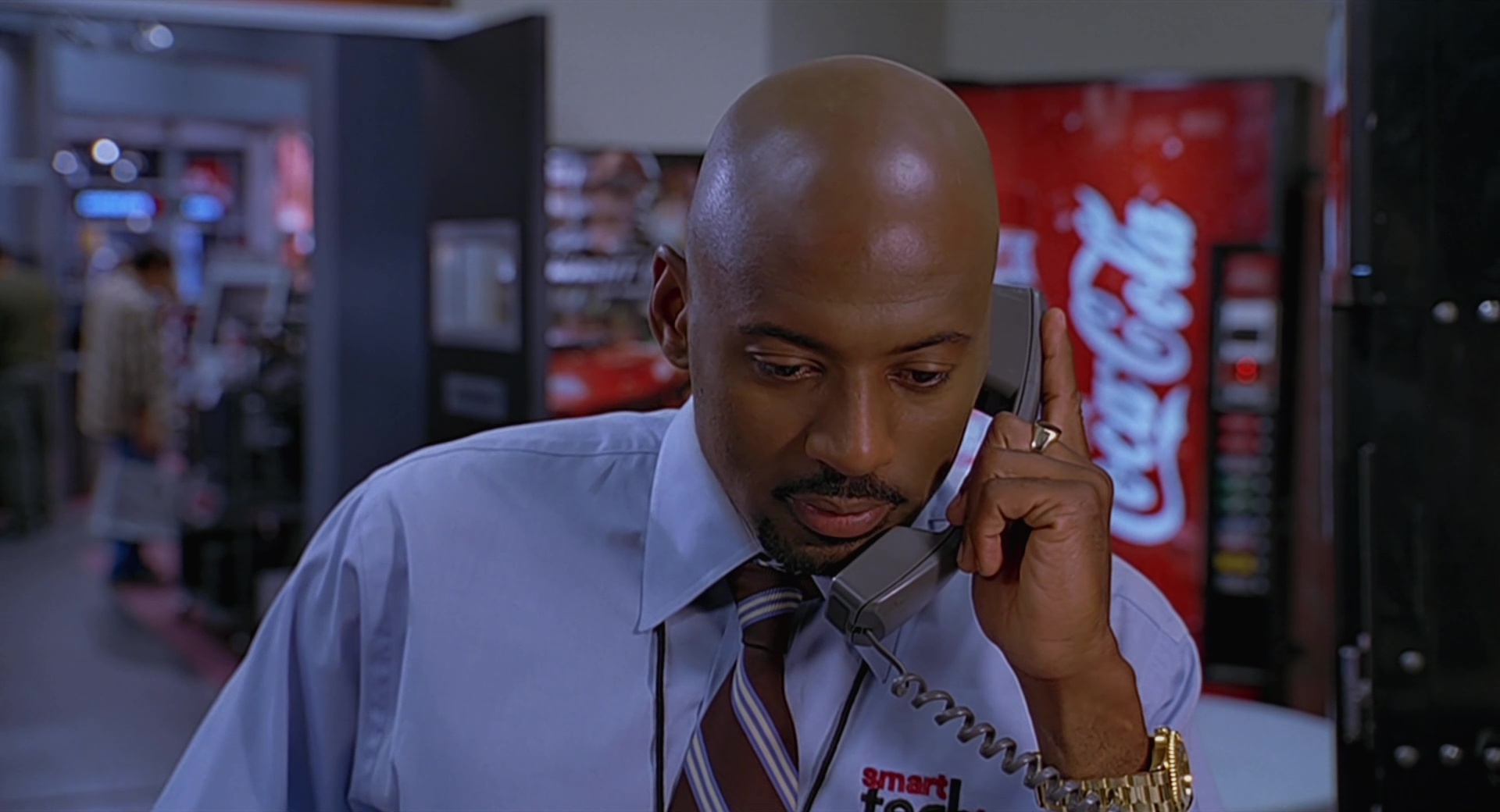 cocacola vending machine and romany malco in the 40year