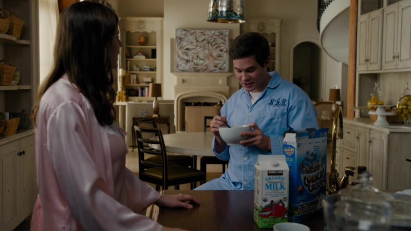 Cookie Crisp and Kirkland Milk in When We First Met (2018) - Movie Product Placement