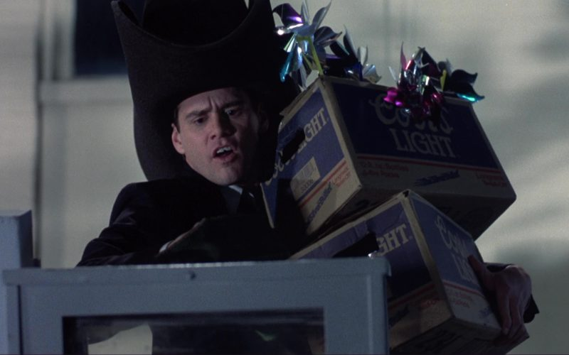 Coors Light Beer Packs (Boxes) and Jim Carrey in Dumb and Dumber (1)