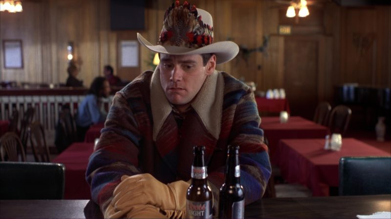 Coors Light Beer and Jim Carrey in Dumb and Dumber (1994) - Movie Product Placement