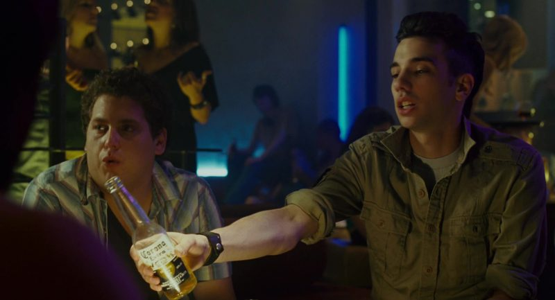 Corona Beer and Jay Baruchel in Knocked Up (2007) - Movie Product Placement