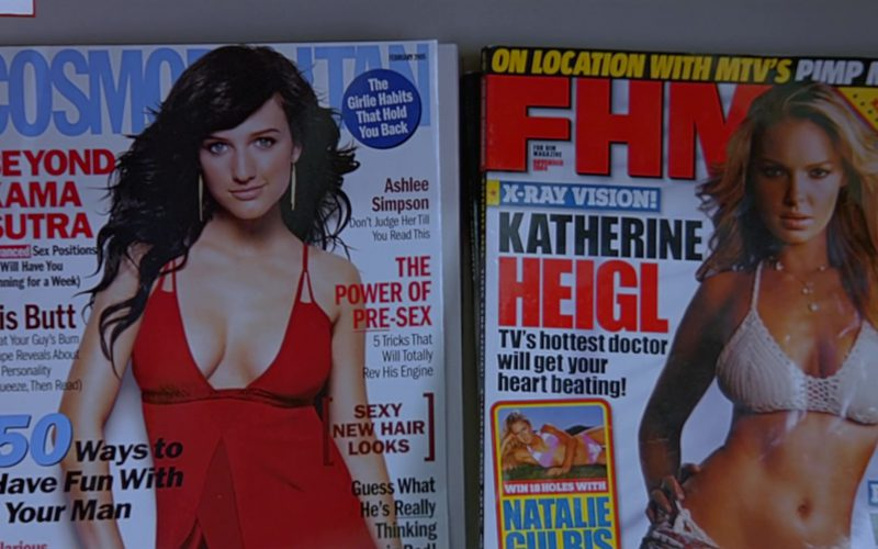 Cosmopolitan and FHM Magazines in The 40-Year-Old Virgin
