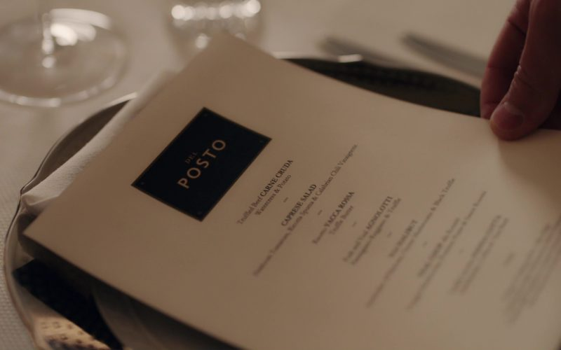 Del Posto Italian Restaurant in Billions