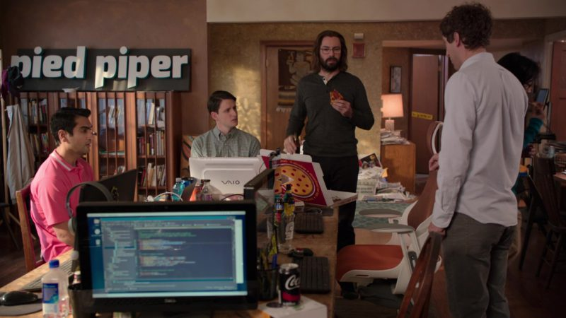 Dell Monitor, Sony Vaio Computer and Coca-Cola Can in Silicon Valley: Grow Fast or Die Slow (2018) TV Show Product Placement