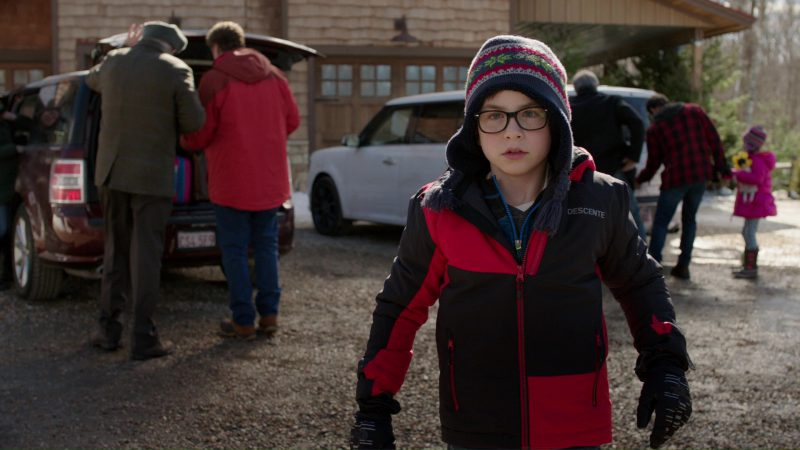 Descente Boys Jacket Worn by Owen Vaccaro in Daddy's Home 2 (2017) Movie Product Placement