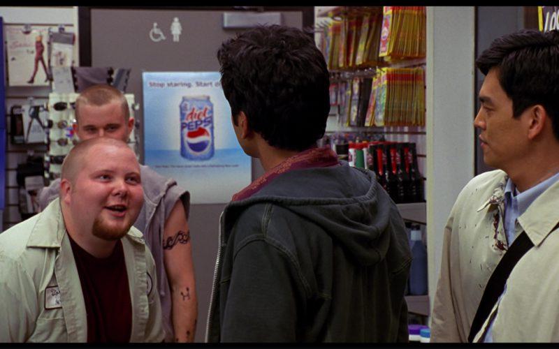 Diet Pepsi Poster in Harold & Kumar Go to White Castle