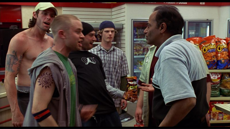 Doritos, Cheetos, Lay's in Harold & Kumar Go to White Castle (2004) Movie Product Placement