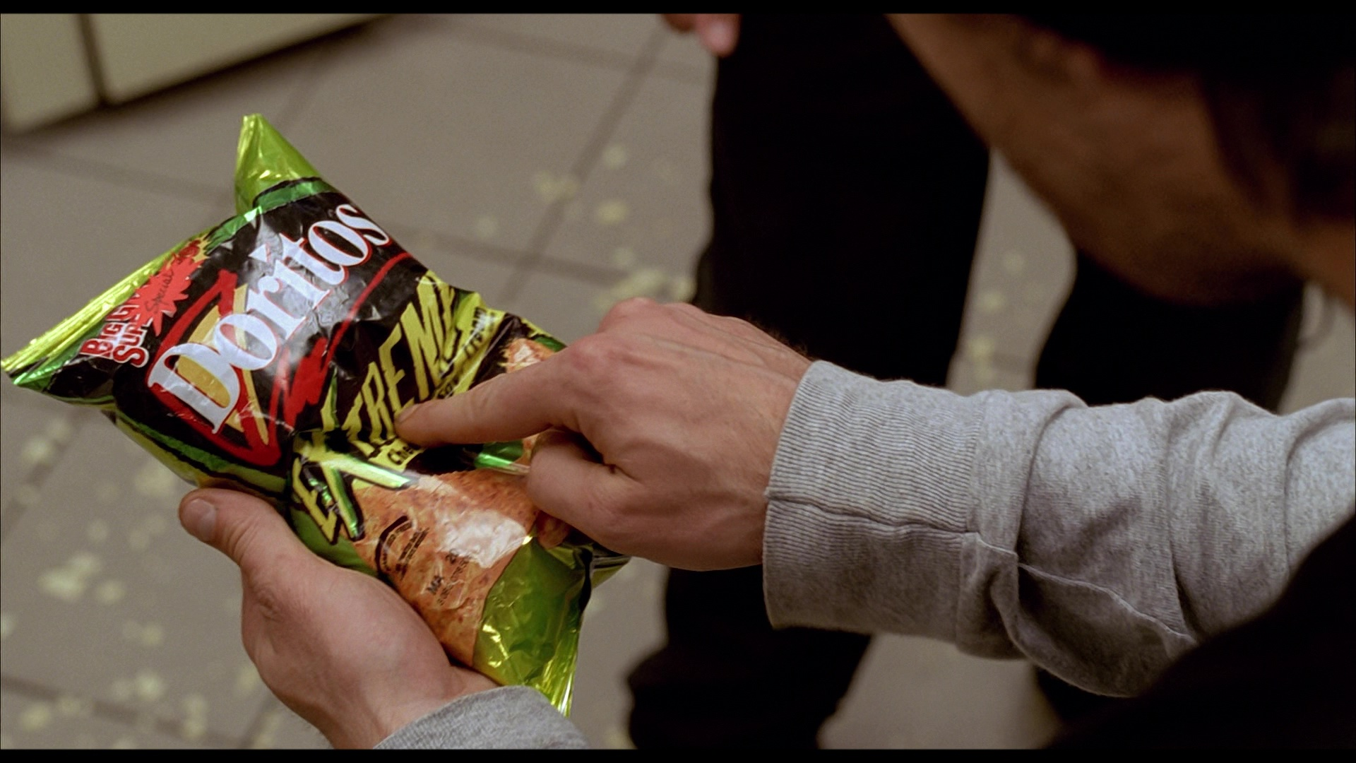 doritos extreme chilli tortilla chips in harold kumar go to white