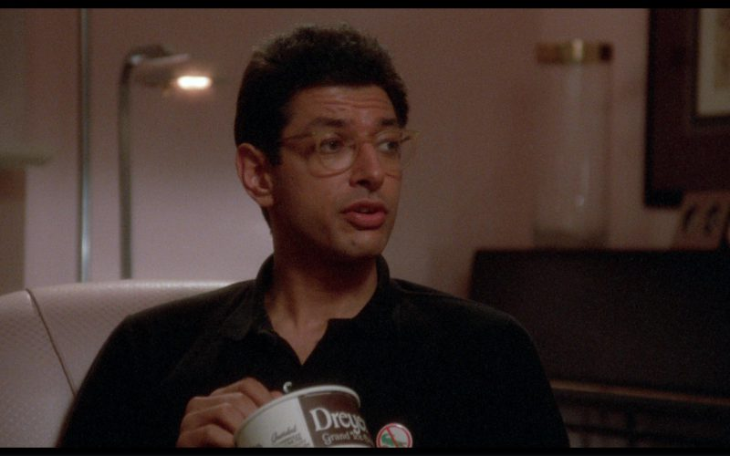 Dreyer's Ice Cream and Jeff Goldblum in The Big Chill (1)