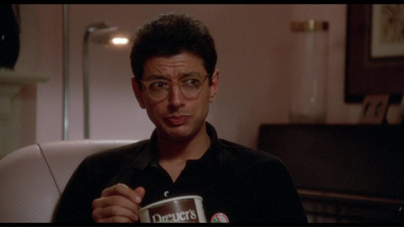 Dreyer's Ice Cream and Jeff Goldblum in The Big Chill (1983) Movie Product Placement