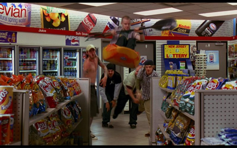 Evian, Coca-Cola, Pepsi, Kodak Gold, Esso, Fritos, Lay's in Harold & Kumar Go to White Castle (1)