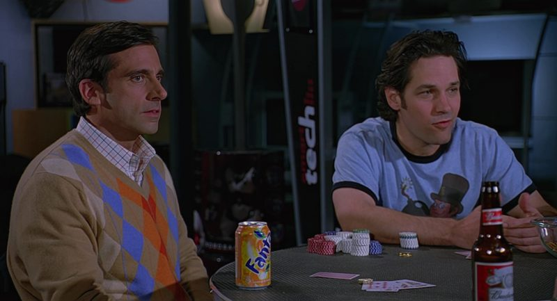 Fanta and Budweiser Beer in The 40-Year-Old Virgin (2005) Movie Product Placement