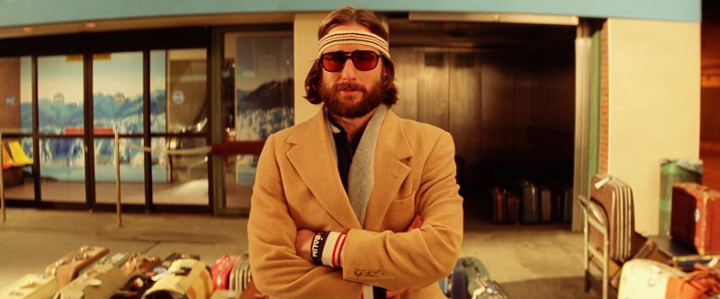 Fila Jacket, Headband and Wristbands Worn by Luke Wilson in The Royal Tenenbaums (2001) - Movie Product Placement