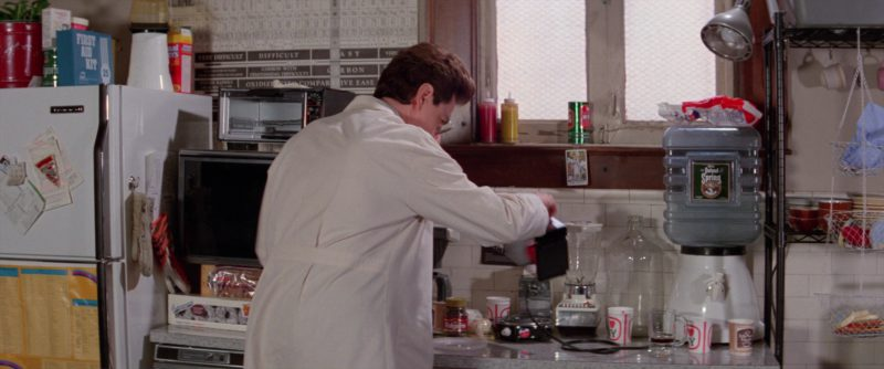 Folgers Coffee and Poland Spring Water in Ghostbusters 2 (1989) - Movie Product Placement