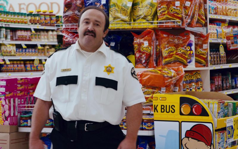 Funyuns, Doritos, Cheetos in Superbad