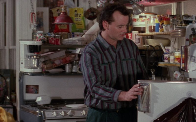GE Refrigerator Used by Bill Murray and UTZ Chips in Ghostbusters 2