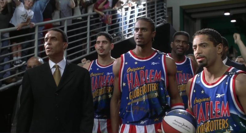 Harlem Globetrotters and Reebok T-Shirts in Little Nicky (2000) - Movie Product Placement