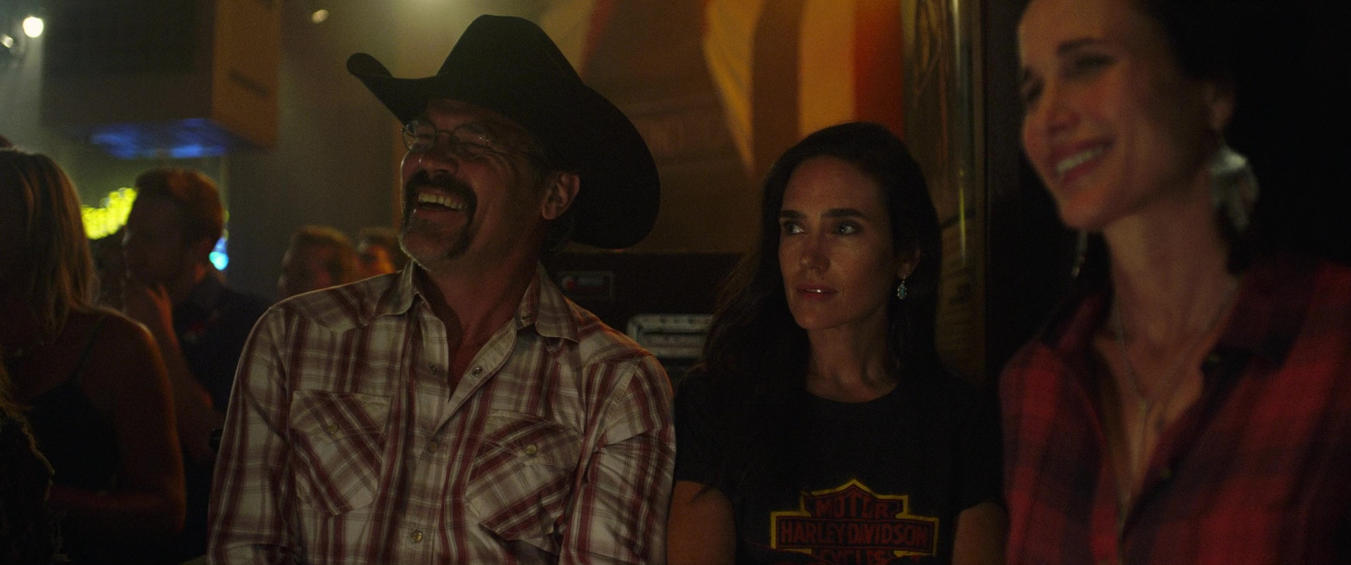 Harley-Davidson T-Shirt Worn by Jennifer Connelly in Only