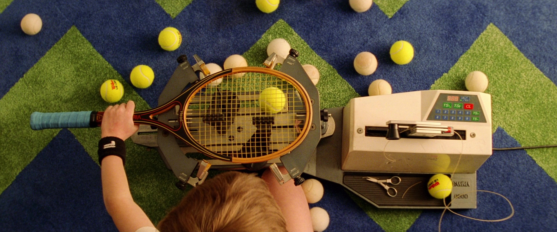 18 Movie/TV Tennis Aces We'd Court | EW.com |Royal Tenenbaums Tennis Scene