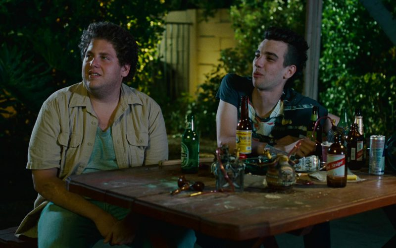 Heineken, Modelo, Red Stripe, Red Bull in Knocked Up (1)
