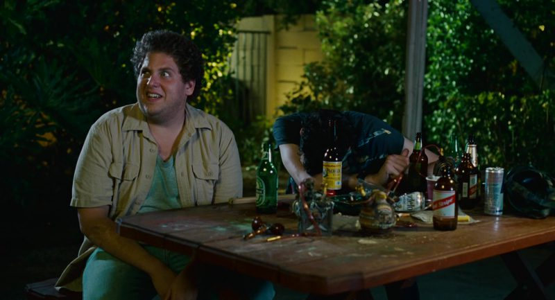 Heineken, Modelo, Red Stripe, Red Bull in Knocked Up (2007) - Movie Product Placement