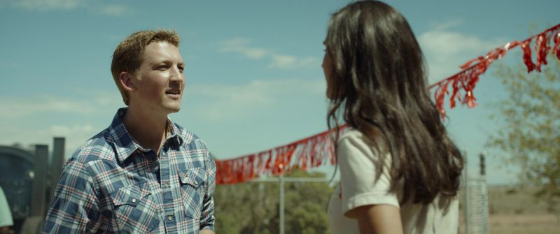 Hollister Shirt Worn by Miles Teller in Only the Brave (2017) Movie Product Placement
