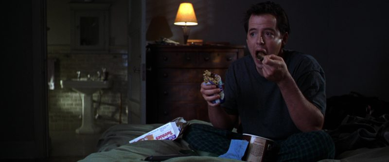 Hostess Twinkies and Matthew Broderick in The Cable Guy (1996) Movie Product Placement