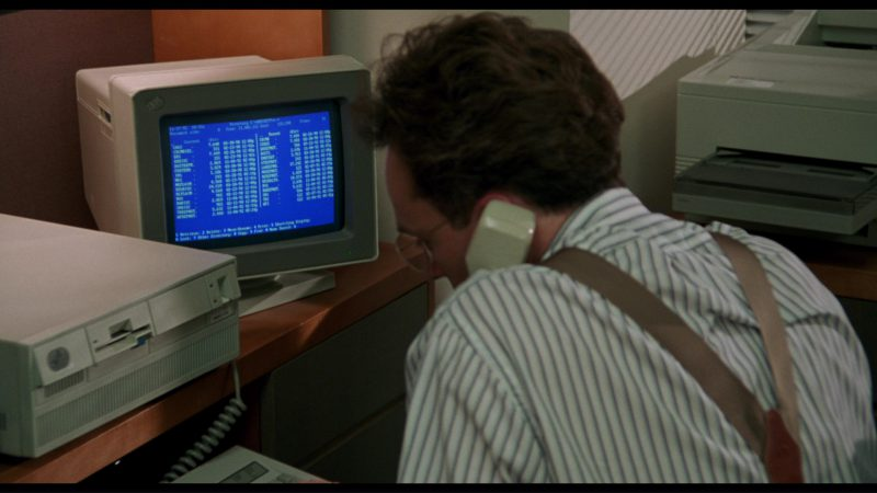 IBM Monitor and Personal Computer in Philadelphia (1993) - Movie Product Placement