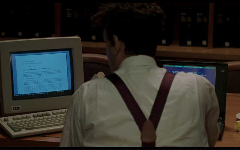 IBM PC and Notebook Used by Tom Hanks in Philadelphia (1)