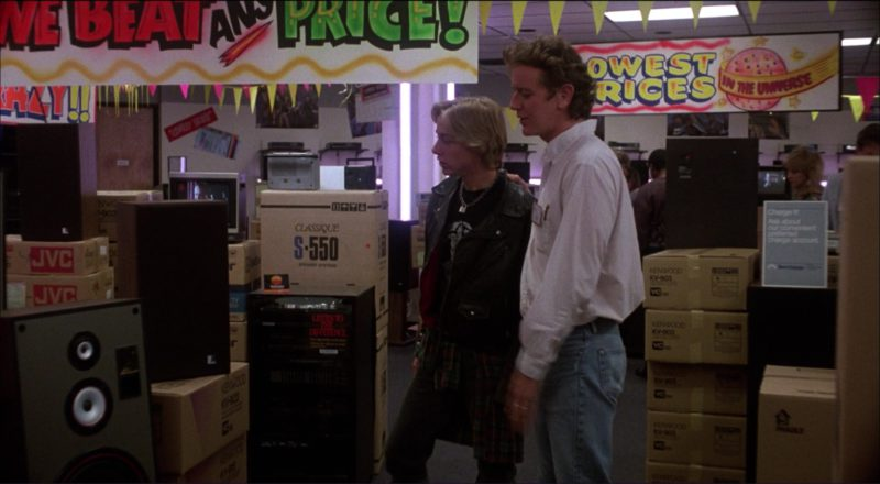 JVC and Kenwood in Ruthless People (1986) Movie Product Placement