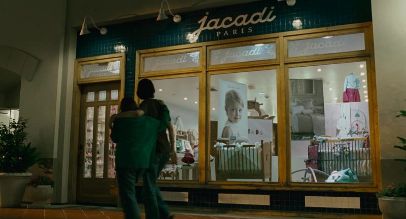 Jacadi Children's Clothes and Shoes Store in Knocked Up (2007) Movie Product Placement