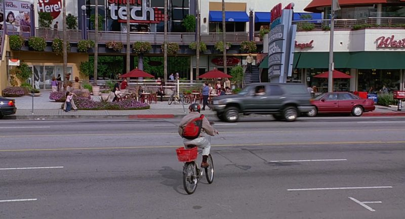 JanSport Backpack Used by Steve Carell in The 40-Year-Old Virgin (2005) - Movie Product Placement