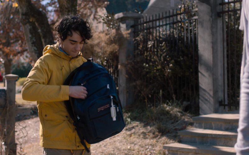 Jansport Backpack Worn by Alex Wolff in Jumanji (6)