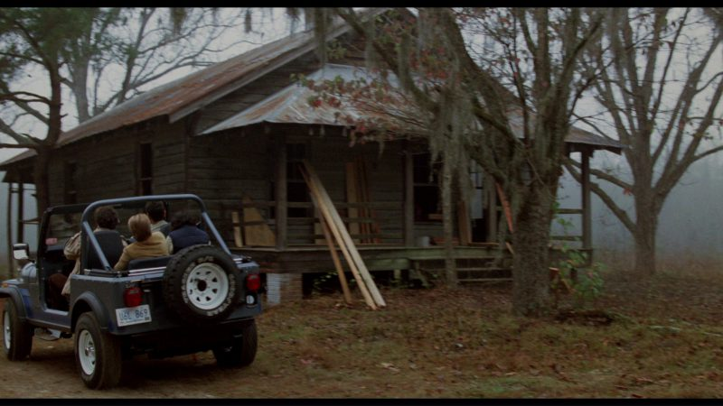Jeep CJ-7 Car in The Big Chill (1983) Movie Product Placement