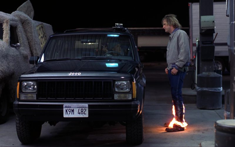 Jeep Cherokee Car Used by Victoria Rowell in Dumb and Dumber (1)