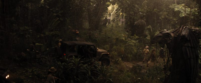 Jeep Wrangler Car Used by Bobby Cannavale in Jumanji: Welcome to the Jungle (2017) - Movie Product Placement