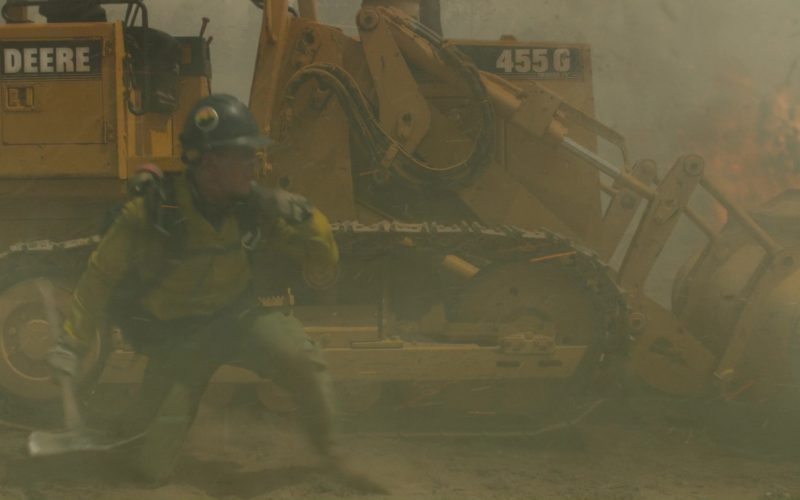 John Deere 455G Crawler Tractor in Only the Brave (1)
