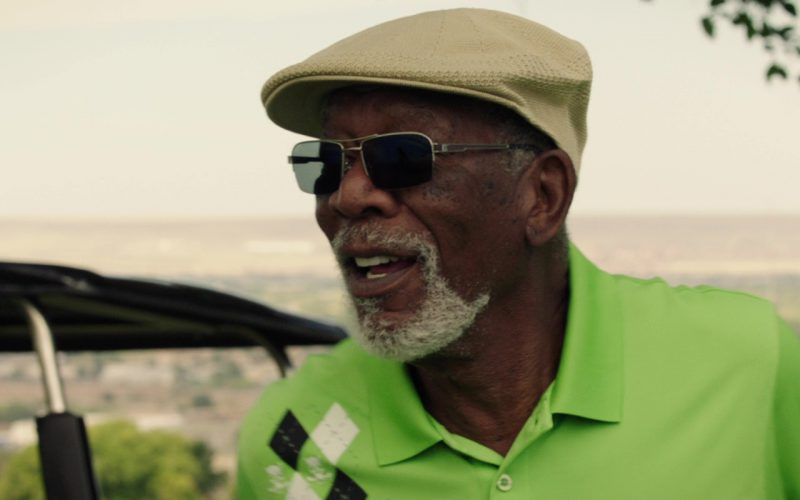 John Varvatos Sunglasses Worn by Morgan Freeman in Just Getting Started (2)