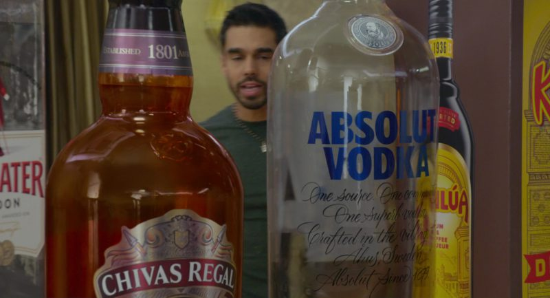 Kahlúa Liqueur, Absolut Vodka, Chivas Regal, Beefeater Gin in The Week Of (2018) - Movie Product Placement