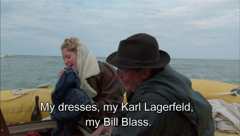 Karl Lagerfeld and Bill Blass Dresses in Richie Rich (1994) - Movie Product Placement