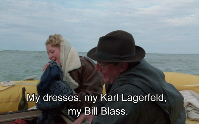 Karl Lagerfeld and Bill Blass Dresses in Richie Rich