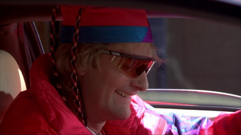 Killer Loop Eyewear Worn by Jeff Daniels in Dumb and Dumber (1994) - Movie Product Placement