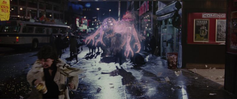 Kirin Beer Sign in Ghostbusters 2 (1989) - Movie Product Placement