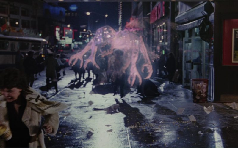 Kirin Beer Sign in Ghostbusters 2